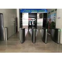 Wholesale Optical Subway Turnstile Barrier / Flap Barrier And Speed Pedestrian Gate Access Control from china suppliers