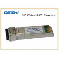 Wholesale 10km LR DDM 10G SFP+ Transceiver , LC optical fiber transceiver Compatible Cisco SFP-10G-LR from china suppliers