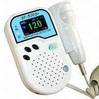 Wholesale Fetal Doppler with Rechargeable Battery, High Sensitivity and Water-resistant Probe from china suppliers