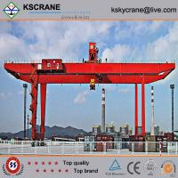 Manufacturer Direct Sale Double Girder Rubber Tyre Gantry Crane/Tyre Mounted Crane for sale