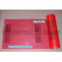 Wholesale red bags, carton liner, can liners, drum liner, Gaylord liners, Green Bags, Header Bags from china suppliers