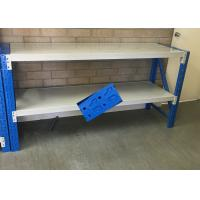 Wholesale Low Carbon Rolled Steel Heavy Duty Storage Shelves For Garage 500-2000KG Capacity from china suppliers