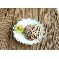 Wholesale Halal Dry Japanese Buckwheat Soba Noodles Healthy 99% Fat Free Brown Color from china suppliers