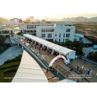 Wholesale Water Resistant Sport Event Tents 850g/Sqm Flame Retardant Block Out Double PVC - Coat from china suppliers