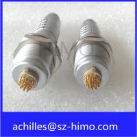 Buy cheap IP68 lemo connector 2 3 4 5 6 7 8 9 10 12 pin circular metal connector with cable wiring harness from Wholesalers