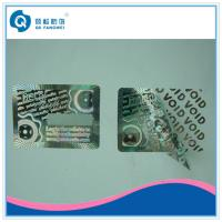 Wholesale Warranty Custom Hologram Stickers , Tamper Evident Holographic Warranty VOID If Removed Labels from china suppliers