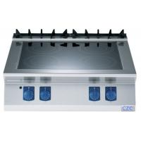 Wholesale Durable Restaurant Kitchen Equipment , 4 Cooking Zones Commercial Induction Cooktop from china suppliers