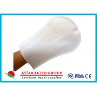 Wholesale Arc Shape Exfoliating Bath Gloves For Patients Small Dot Ultra Thick from china suppliers