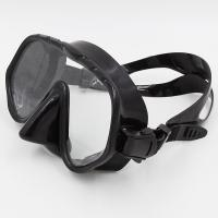 Wholesale Black and Red Liquid Free Dive Goggles Sea Dive Mask CE Certificate from china suppliers