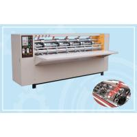 China Clapboard Thin Blade Slitter Scorer Machine / Slitter Cutter Creaser CE Approved on sale