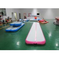 Wholesale Commercial Pink Air Track Gymnastics Mat 12m ,10m , 8m , 6m , 3m from china suppliers
