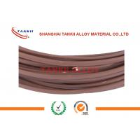 Wholesale ANSI Extension Single Type T Thermocouple Wire 2*0.2mm With Teflon Insulation from china suppliers