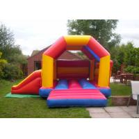 Wholesale Multi Color PVC Inflatable Combo , Safety Kids Combo Jumpers For Rent from china suppliers