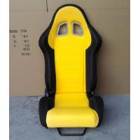Wholesale JBR1018 fabric Sport Racing Seats With Adjuster / Slider Car Seats from china suppliers