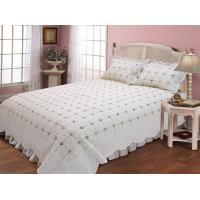 Wholesale Microfiber / Cotton Full Size Bed Sets With Geometric Pattern Designs from china suppliers