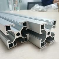 Wholesale Cold Drawn Aluminum Spare Parts Anodize T Slot Extruded Frame Profile Durable from china suppliers