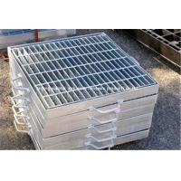 Wholesale Ventilated Stainless Steel Floor Grating , Safety Heavy Duty Bar Grating from china suppliers