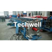 Wholesale Round / Square Custom Downpipe Roll Forming Machine For Metal Rainspout Profile from china suppliers