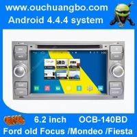 Wholesale Ouchuangbo audio stereo gps radio kit Ford mondeo Fiesta focus android 4.4 OS 4 core USB from china suppliers
