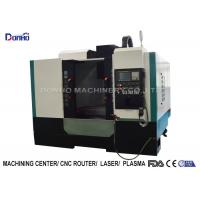China ISO Small Cnc Milling Machine For Machining Metal Castings Plumbing Fittings Products for sale