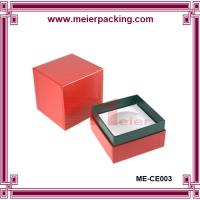 Wholesale Red candle paper box, color printed gift box, candle box for wholesale ME-CE003 from china suppliers