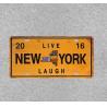 NEW YORK Metal Plaque Metal Tin Signs Vintage Wall Plaque Retro Club Pub Bar Poster Decor for sale