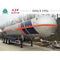 Wholesale Tri Axle LPG Tank Trailer , LPG Transport Trailer 30-60 CBM Capacity from china suppliers