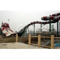 Giant Boomerang Water Park Slides High Speed for Exciting Summer Entertainment Water Fun