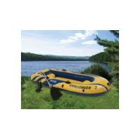 Wholesale Manual Ferry Barge / Rubber Boat With Canoe Oars For Three People from china suppliers