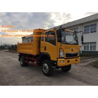 Wholesale 4x2 5 - 10T Sinotruk Howo7 Heavy Duty Dump Truck For Sand Transportation from china suppliers