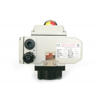 China External Signals Ratio Controlled AC24V 10W Quarter Turn Electric Actuator on sale