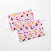 Wholesale Three Layers Antibacterial Children'S Disposable Face Masks from china suppliers