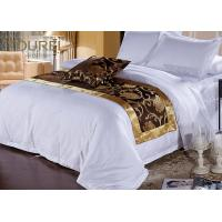 Wholesale 300 Tc Cotton European Hotel Bed Runners / Flat Sheet / Pillowcase from china suppliers