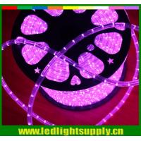Wholesale Super bright Epistar led 220v IP65 2 wire Christmas decoration led round rope lighting from china suppliers