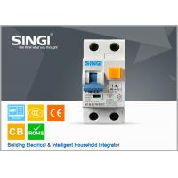 Wholesale MCCB / RCCB Earth leakage micro circuit breaker , overload / short circuit breaker from china suppliers