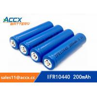 Wholesale IFR10440 3.2V AAA size lifepo lithium rechargeable battery from china suppliers