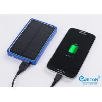 Wholesale Emergency Charger 4000mAh Portable Solar Power Bank , solar power phone charger from china suppliers