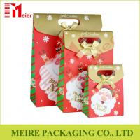 Wholesale Santa Claus Christmas Gift Bag Merry Christmas Paper Gift Treat Cookies and candy Bags from china suppliers