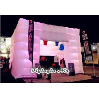 Buy cheap 5m Led Inflatable Cube Tent with Lights for Outdoor Event and Party Supplies from Wholesalers