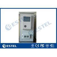 Wholesale Two Battery Shelf Outdoor Power Supply Cabinet One Front Door With Two Air Conditioner from china suppliers