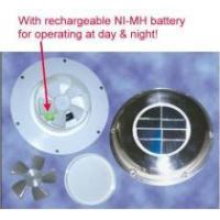 China Multi-function Solar Power Fan/Vents on sale