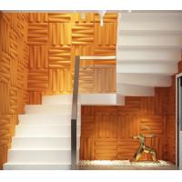 Wholesale Removable Bedroom / Bathroom Wall Sticker 3D Decorative Wall Panels Sound-absorbing from china suppliers