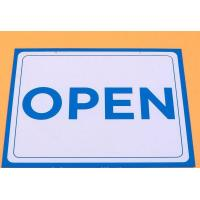 Wholesale Open Closed Traffic Warning Signs PVC Metal Warning Sign For Store from china suppliers