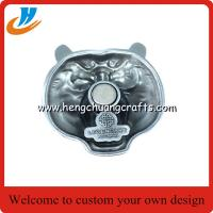 China Promotional Gifts Refrigerator Magnet / Custom Metal Souvenir Fridge Magnet on sale