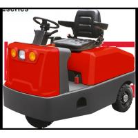 China Red Or Yellow Color Electric Tow Tractor 6000KGS Traction CE Approval for sale