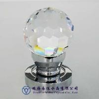Buy cheap Crystal Door Knobs W Brass Base (CT110-50D-TDL) from wholesalers