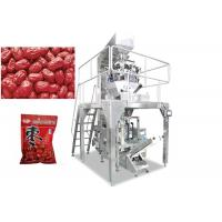 Wholesale Automatic 2 - 10 Multihead Weigher Packing Machine For Apple Ring / Dates / Pistachio Nut from china suppliers