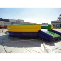 Wholesale Competitive Inflatable Mechanical Bull , PVC Inflatable Mat with Mechanical Rodeo Bull Machine from china suppliers