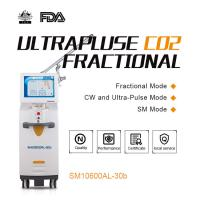 Buy cheap Ultrapulse RF - Excited CO2 Fractional Laser Machine with Vaginal Function for Acne Scar Removal from wholesalers