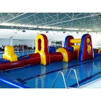 Wholesale Commercial Aqua Fun Inflatable Slide / Water Blow Up Obstacle Course For Swimming Pool from china suppliers